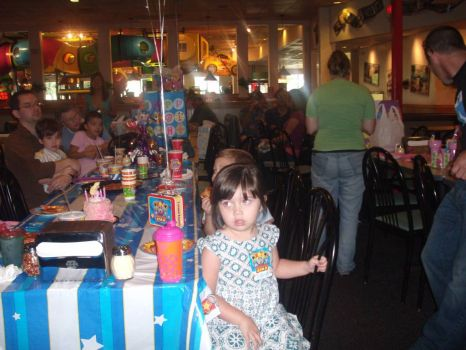 Birthday Party at Chucky Cheese