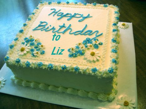 HAPPY BIRTHDAY to Liz aka 22Gitane.  Have a fab day/year.  Hugs.