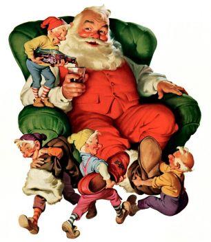 Coca Cola Chistmas Santa
