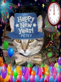 Petey says Happy New Year!