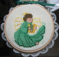 Gold (Green) Angel #8538 A