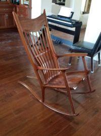 Sam Maloof style rocking chair