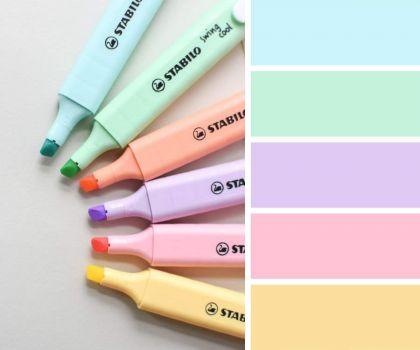 Pastel Rainbow Highlighters