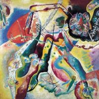 Picture with Red Marks - Wassily Kandinsky