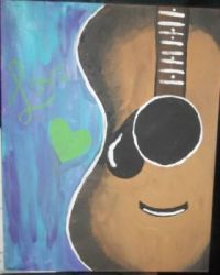 My Granddaughter Painted This For Me!