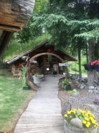 Hobbit House,  Talkeetna, Alaska.