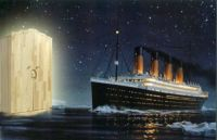 This wasn't an iceberg sank the Titanic