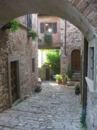 A morning walk in Montefioralle, Tuscany, Italy - #2