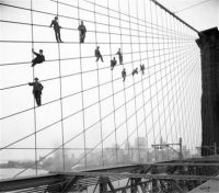 Brookly Bridge Painting 1914