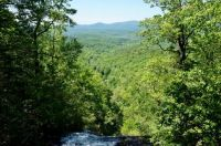 Rolling mountains, from the top of Amicalola Falls