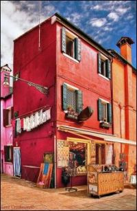 Bead Shop on Burano, Italy