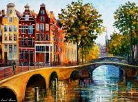 Amsterdam, Netherlands by Leonid Afremov