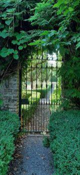 Gate at Farmleigh House, Dublin, Ireland