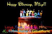 Tres & More! - Happy Birthday Milly!