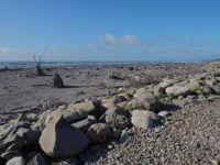 Hokitika beach.