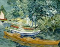 Vincent van Gogh - (1853 - 1890) Bank of the Oise at Auvers, July 1890