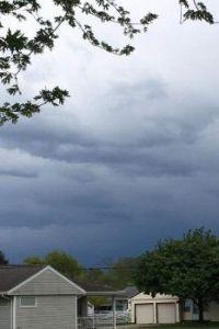 Storm a comin'.