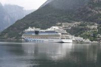 Cruiseship in Norway