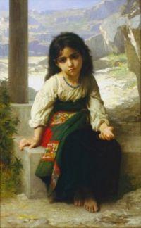 W.Bouguereau - Petite mendiante