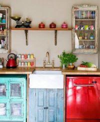 Cocina con Toques Vintage