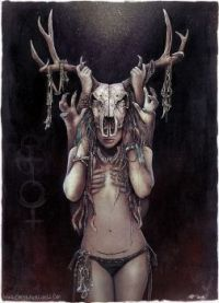 The Horned Goddessby Lovell-Art