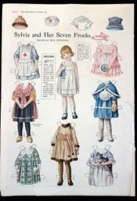 Sylvia and Her Seven Frocks