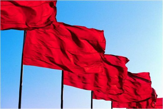 Santa Ana Winds - Red fire danger flags are up