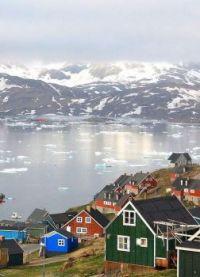 O colorido de Nuuk, Groenlândia !!!