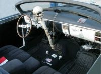 '50 Chevy Lead Sled Interior