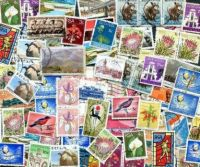 Vintage South African Stamps (662)