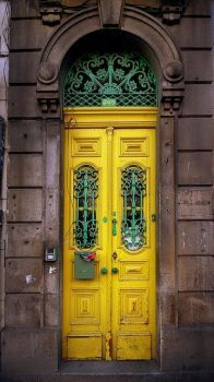European Yellow Doors