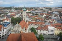 View from Alte Peter in central Munich