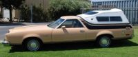 1978 Ford Ranchero GT Brougham with topper side