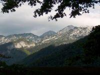 The Dolomites From Gas Station In Liechtenstein: