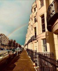 Rainbow in Brighton