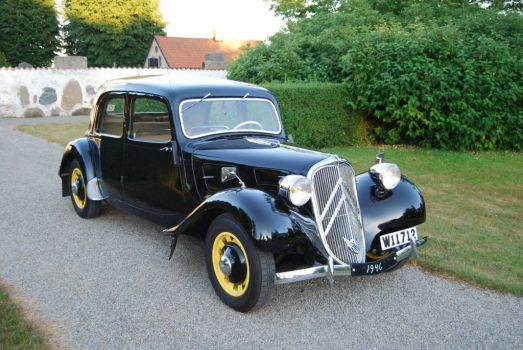 Traction Avant - a legend!