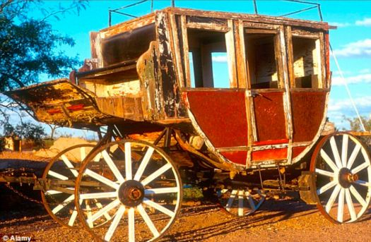 I like old  stagecoach!!