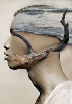 1  ~  'In my mind at a serene beach'