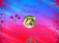 Happy Birthday dear Barbara (BarbaraL)