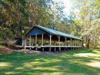 Historic building - the dance floor at Spring Bluff Station!