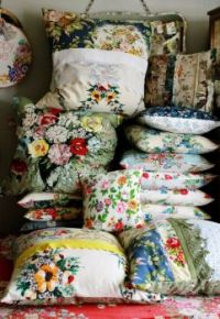 Vintage Linen Pillows