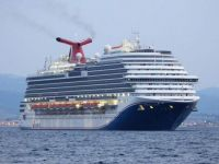 CARNIVAL MAGIC arriving in Gibraltar with her new colours