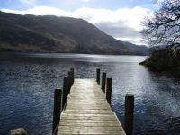 Ullswater Jetty. Lake District, UK