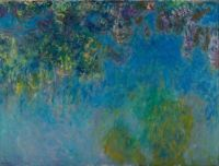 Claude Monet - Wisteria - Especially for Isaly (Mar17P35)
