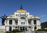 MEXICO – Mexico City – Palacio de Bellas Artes (Palace of Fine Arts)