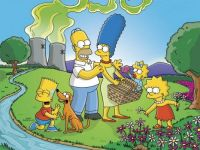 The Simpsons On Picnic