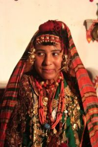 Traditional dancer in Libya