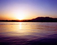 Nile sunset (large)