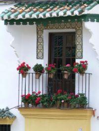 Spanish veranda