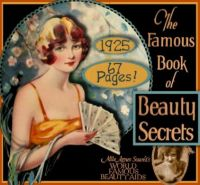 Themes Vintage illustrations/pictures - The Famous Book of Beauty Secrets
